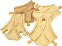 Bigjigs Rail Accessories - Curved Turnout Pieces