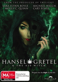 Hansel & Gretel and the 420 Witch on DVD