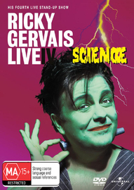 Ricky Gervais Live IV: Science on DVD