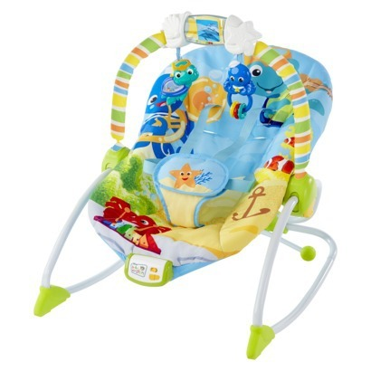 657eede06 Baby Einstein Rhythm of the Reef Bouncer
