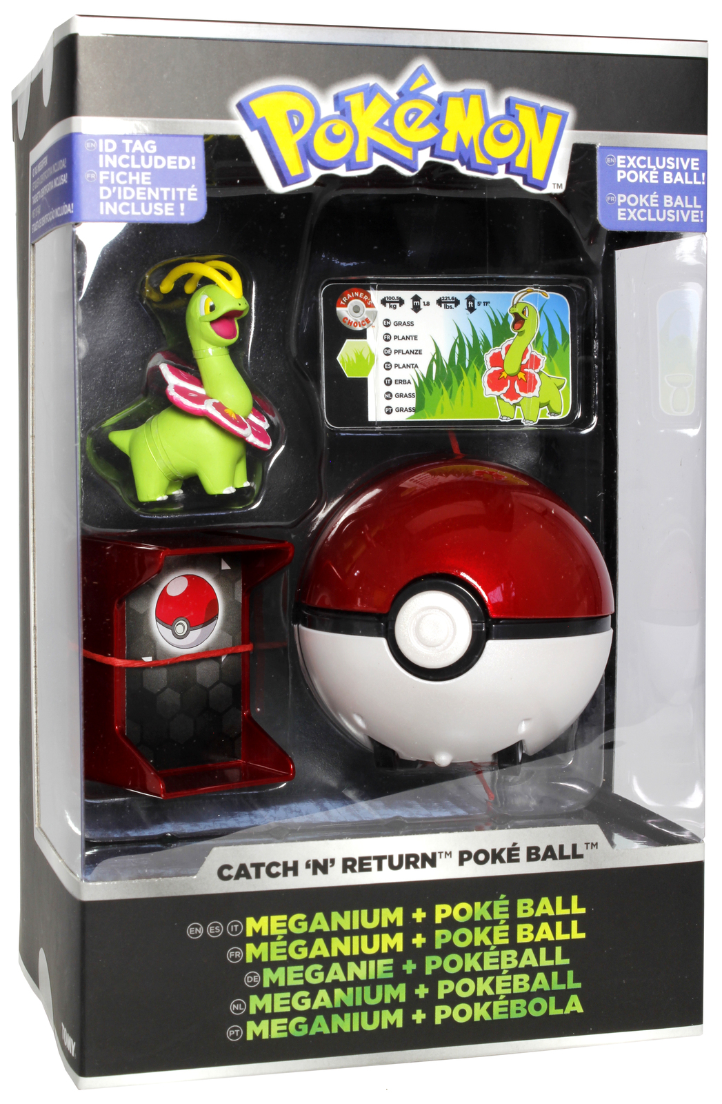 Pokemon: Pokémon Catch 'n Return - Meganium Poké Ball image