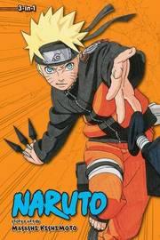 Naruto (3-in-1 Edition), Vol. 10 by Masashi Kishimoto