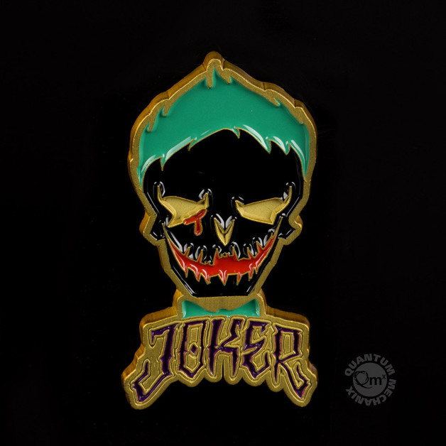 Suicide Squad: Joker Skull - Lapel Pin SDCC 2016 Excl
