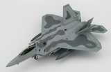 "Hobby Master: 1/72 Lockheed F-22 Raptor ""Maloney's Pony"" - Diecast Model"