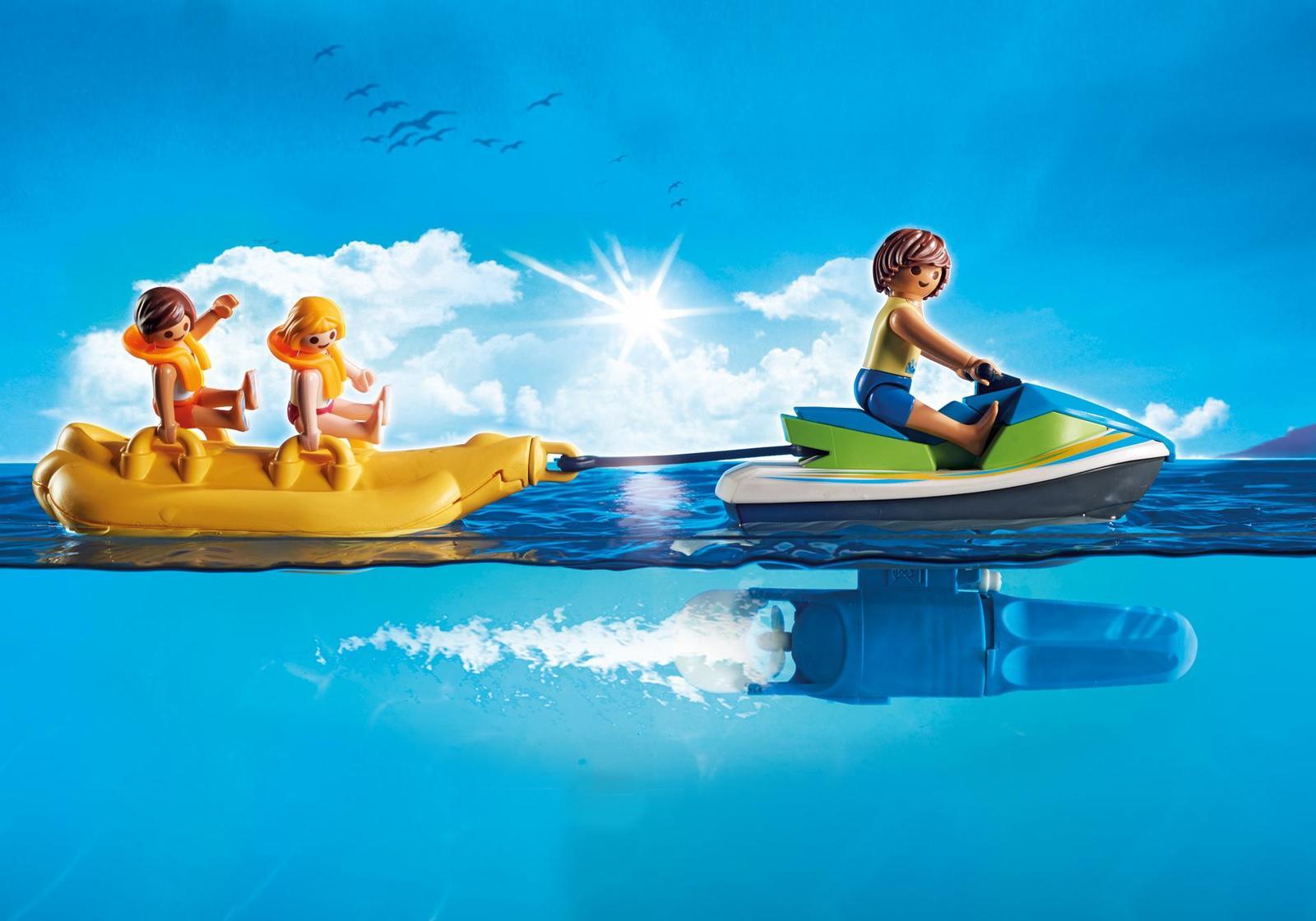 Playmobil: Family Fun - Watercraft with Banana Boat image