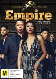 Empire - Season 3 (5 Disc Set) on DVD