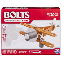 Meccano: Bolts Mini Vehicles - Bi-Plane