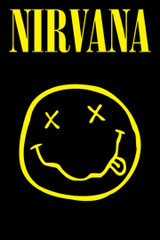 Nirvana Smiley Maxi Poster (797)