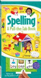 Pull-the-Tab Board Book: Spelling by Hinkler Books Hinkler Books