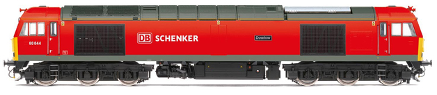 Hornby DB Schenker Class 60, Co-Co, 60044 'Dowlow'