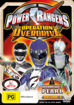 Power Rangers - Operation Overdrive: Vol. 1 - Brownbeard's Pearl on DVD