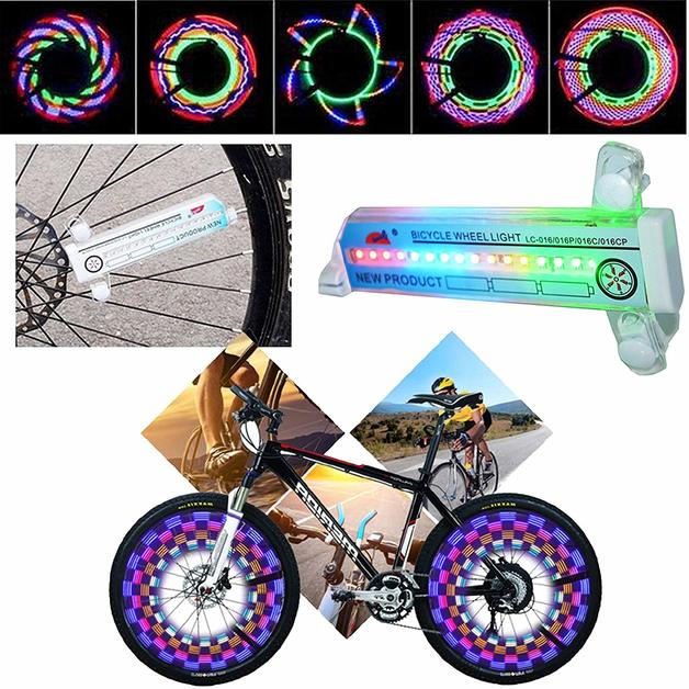 LED Bike Wheel Flash Lights