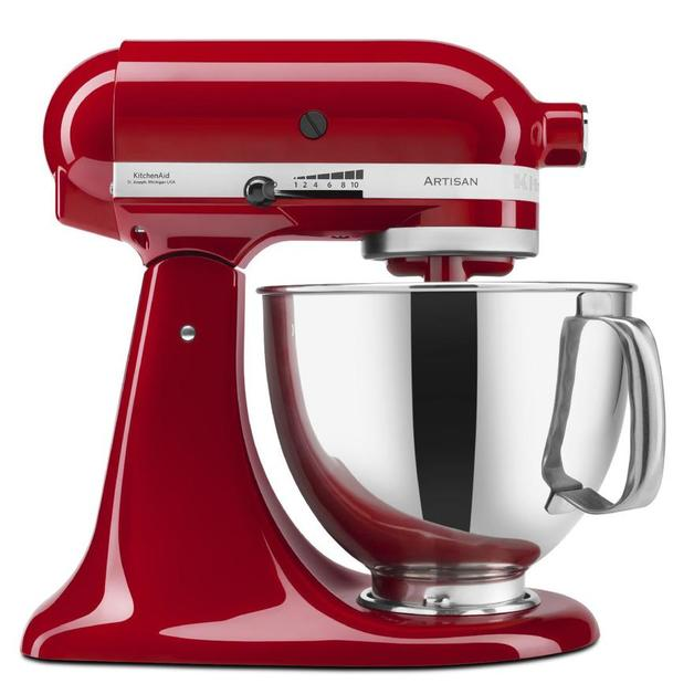 KitchenAid: Stand Mixer - Empire Red + BONUS Gift