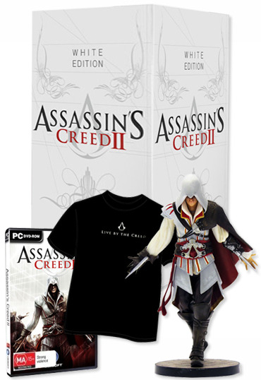 Assassin's Creed II - White Collector's Edition for PC Games