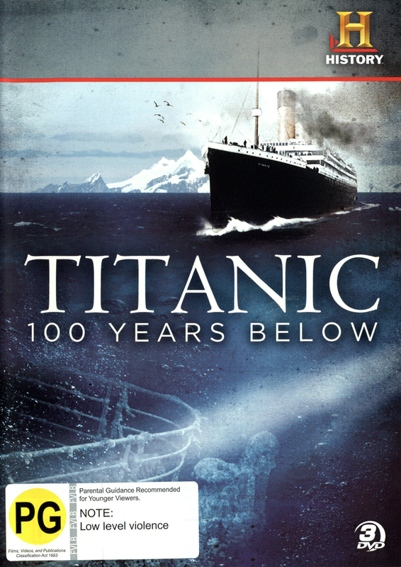 Titanic: 100 Years Below on DVD