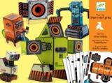 Djeco: Design - Urban Robots Papercraft