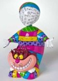 Romero Britto: Cheshire Cat Figurine - Large