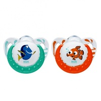 NUK Disney Finding Dory Trendline Soothers for 6-18 Months (2 Pack)