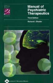 Manual of Psychiatric Therapeutics image