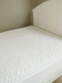 Brolly Sheets: Waterproof Quilted Mattress Protector - Super King
