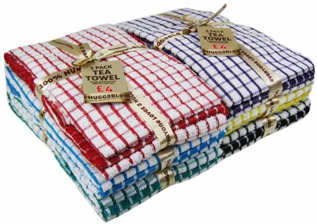 Heavy Duty Cotton Tea Towels
