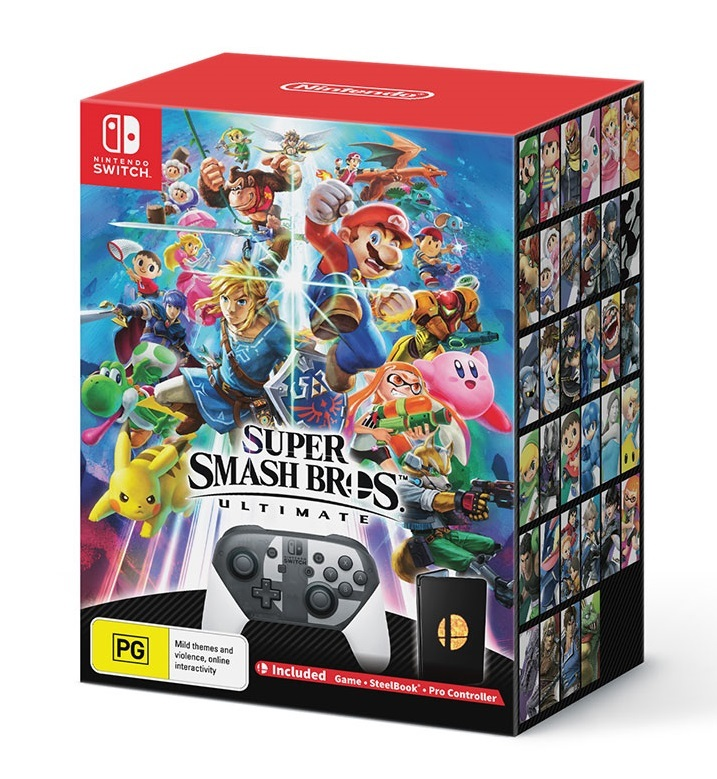 Super Smash Bros. Ultimate Special Edition for Switch image