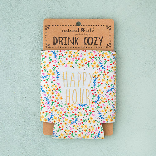 Natural Life: Neoprene Can Cozy - Happy Hour