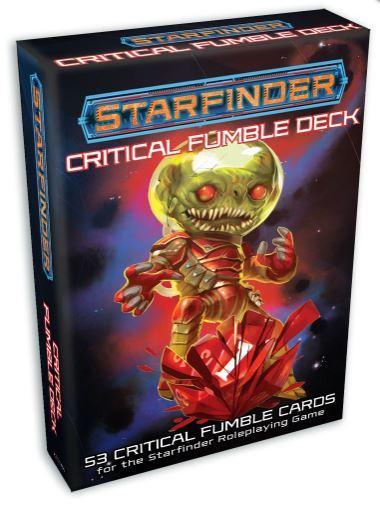 Starfinder RPG: Critical Fumble Deck