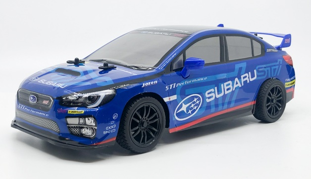 Rusco: 1:18 Scale Super GT Race Car - Subaru (Blue)