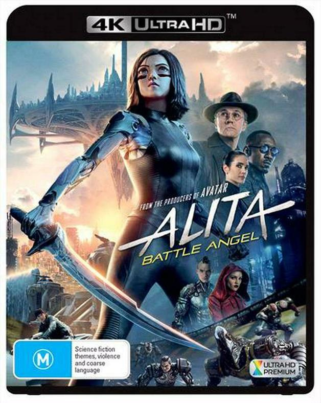 Alita: Battle Angel on UHD Blu-ray