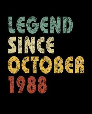 Legend Since October 1988 by Delsee Notebooks