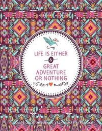 Life is Either a Great Adventure or Nothing 2019-2020 Academic Year Monthly Planner by Laura's Cute Planners