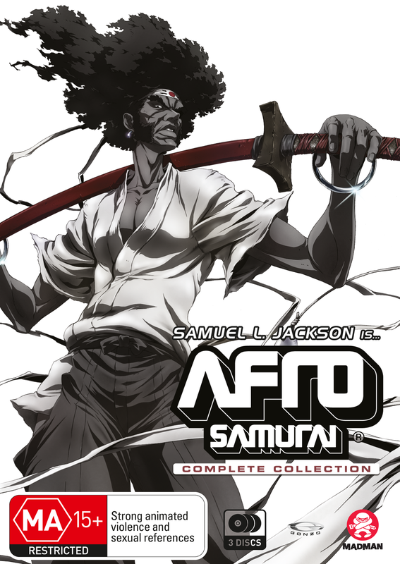 Afro Samurai Complete Collection on DVD