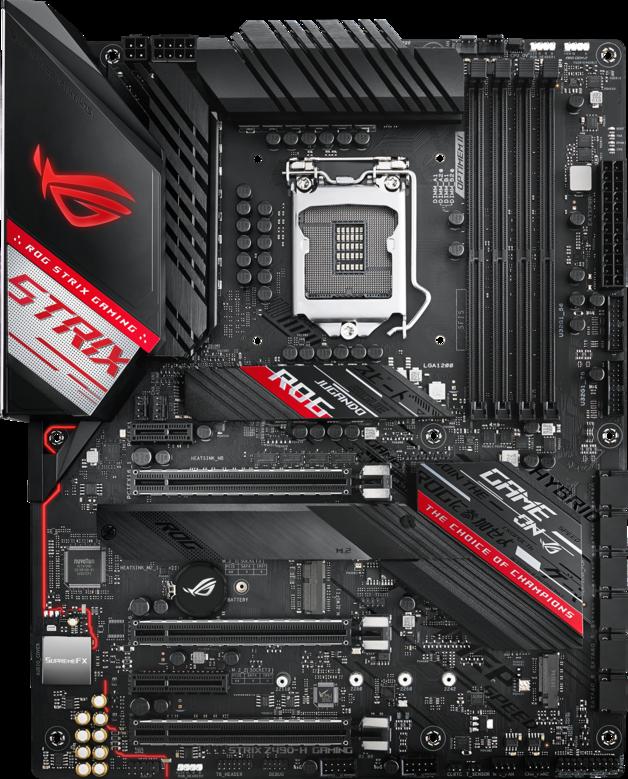 ASUS ROG Strix Z490-H Gaming Motherboard