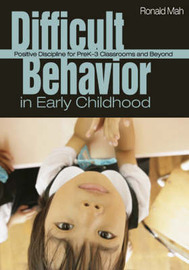 Difficult Behavior in Early Childhood by Ronald Mah image