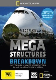 National Geographic: Megastructures Breakdown on DVD
