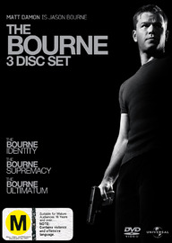 Bourne Trilogy on DVD