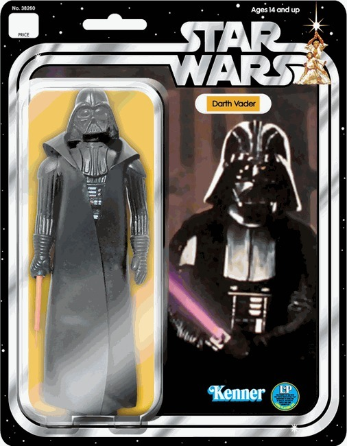 Star Wars Jumbo Vintage Kenner Darth Vader Action Figure