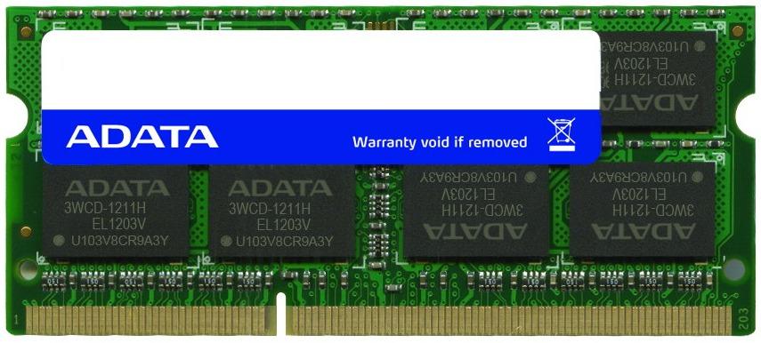 1x4GB ADATA 1600MHz DDR3 image