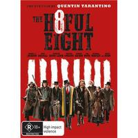 The Hateful Eight on DVD image