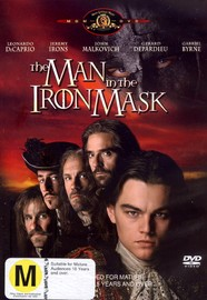 The Man In The Iron Mask on DVD image