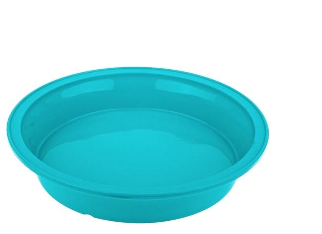 Silicone Round Cake Pan 24cm Turquoise