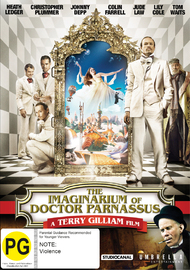 The Imaginarium Of Doctor Parnassus on DVD