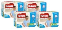Huggies Ultra Dry Nappies Convenience Shipper: Walker Boy 13-18kg (64)