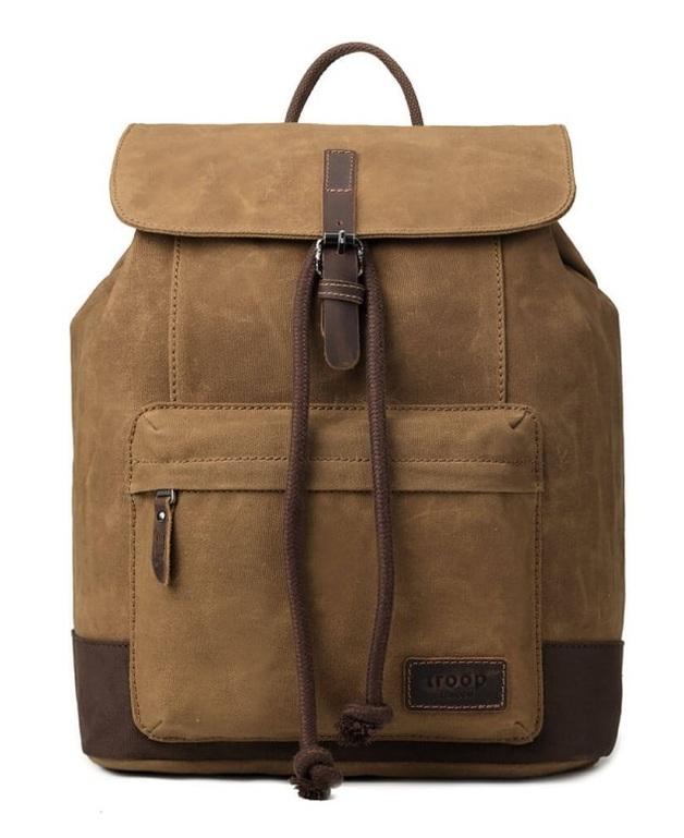 Troop London: Nomad Canvas Backpack - Camel
