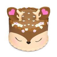 I Love Squishy: Deer Squishie Toy (10cm) image