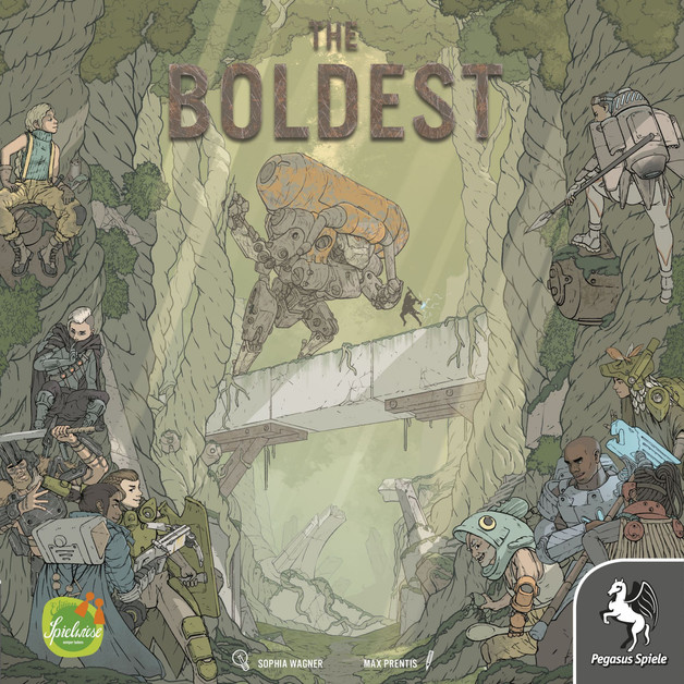 The Boldest - Board Game