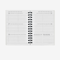 Legami: Small Weekly 12 Month 2020 Diary Spiral Bound - Cats image