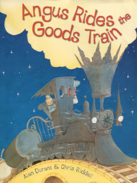 Angus Rides the Goods Train by Alan Durant image