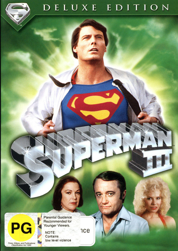 Superman III - Deluxe Edition on DVD